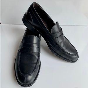 Testoni Black Dress Shoes 9